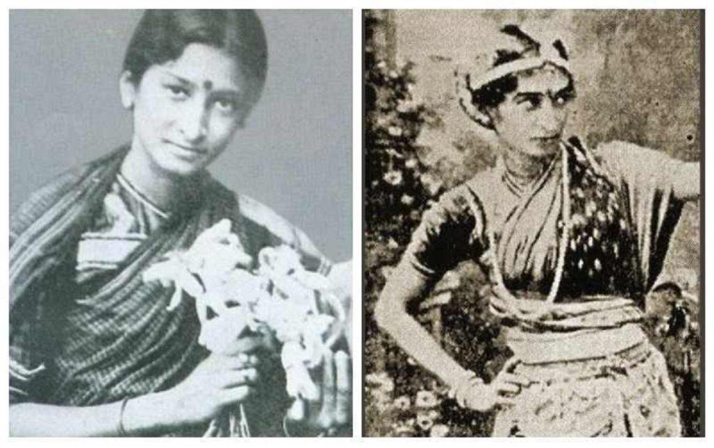 Durgabai Kamat : The First Female actress