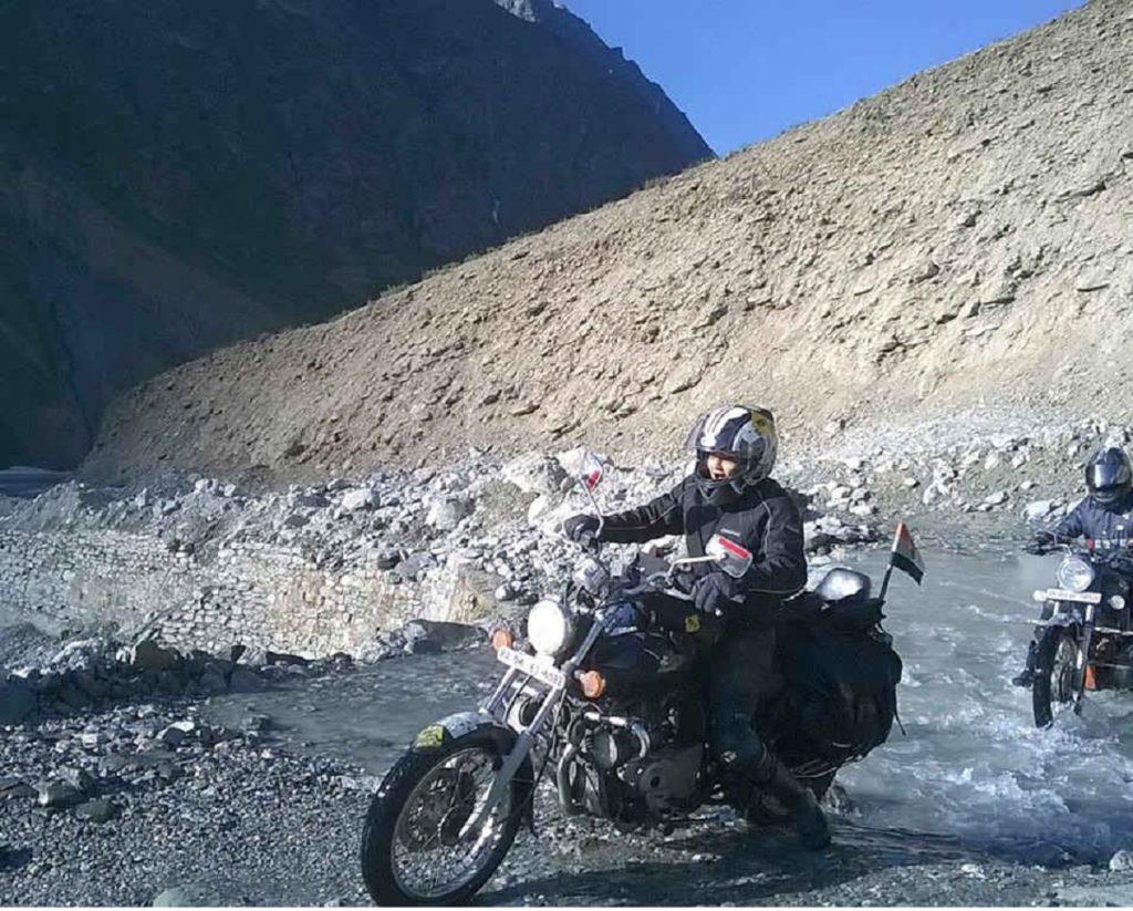 Roshni Sharma : The Biker