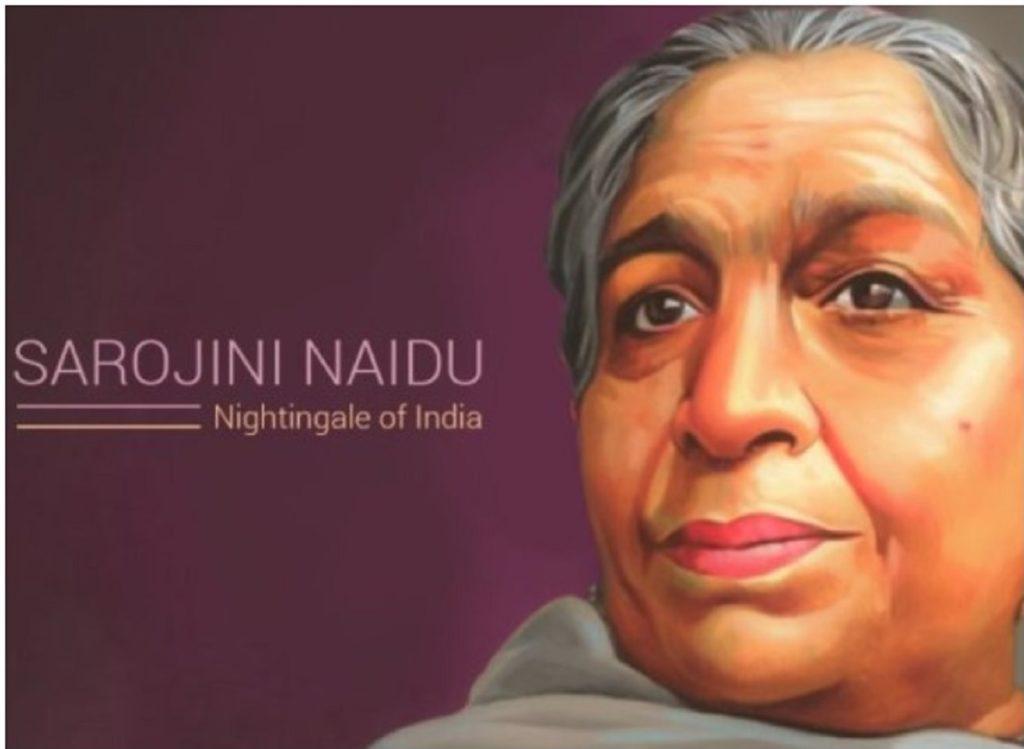 Sarojini Naidu : First Female President of the India National Congress.